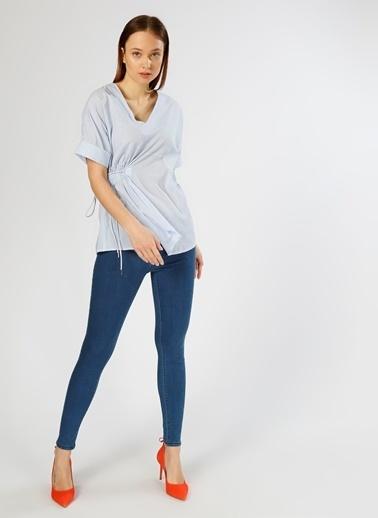 Only Only Kadın Süper Skinny Denim Pantolon Mavi